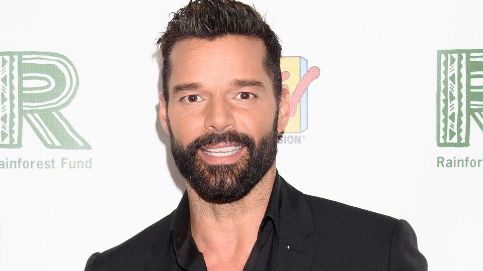 Ricky Martin ist ein stolzer Papa.