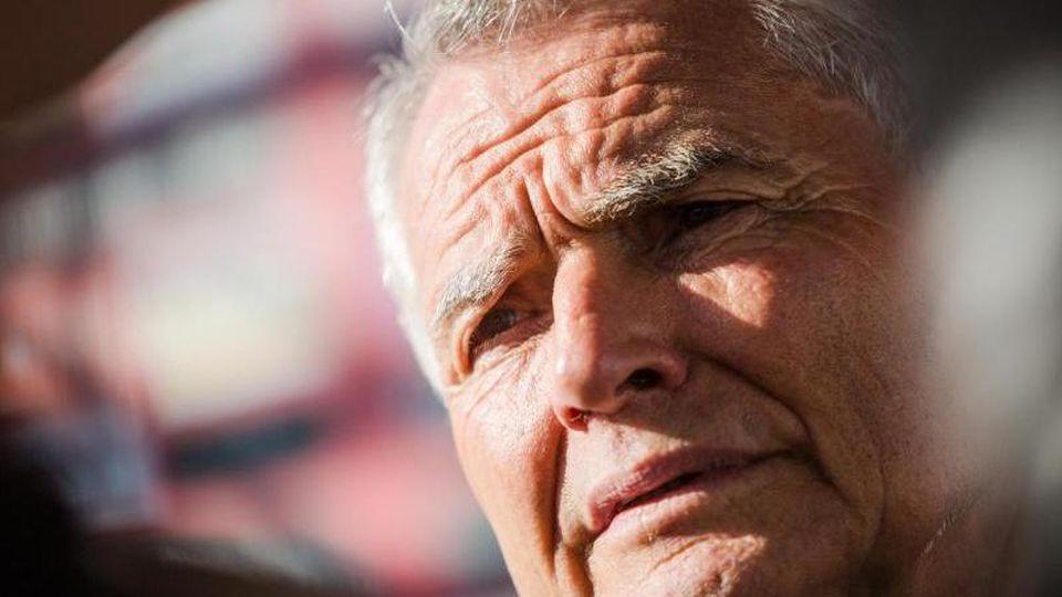 Wolfgang Dietrich, Präsident vom Fußball-Bundesligisten VfB Stuttgart. Foto: Christoph Schmidt/dpa/Archiv