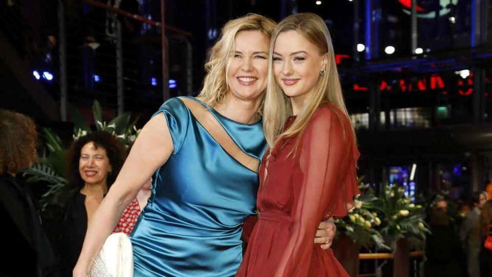 Veronica Ferres mit Tochter Lilly in Berlin