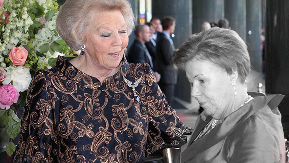 Die ehemalige Königin Beatrix der Niederlanden trauert um ihre jüngste Schwester, Prinzessin Patricia.