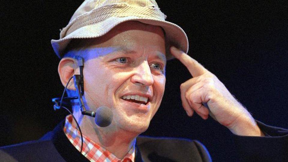 Der Kabarettist Franz-Markus Barwasser als Erwin Pelzig. Foto: Ursula Düren/dpa/Archivbild