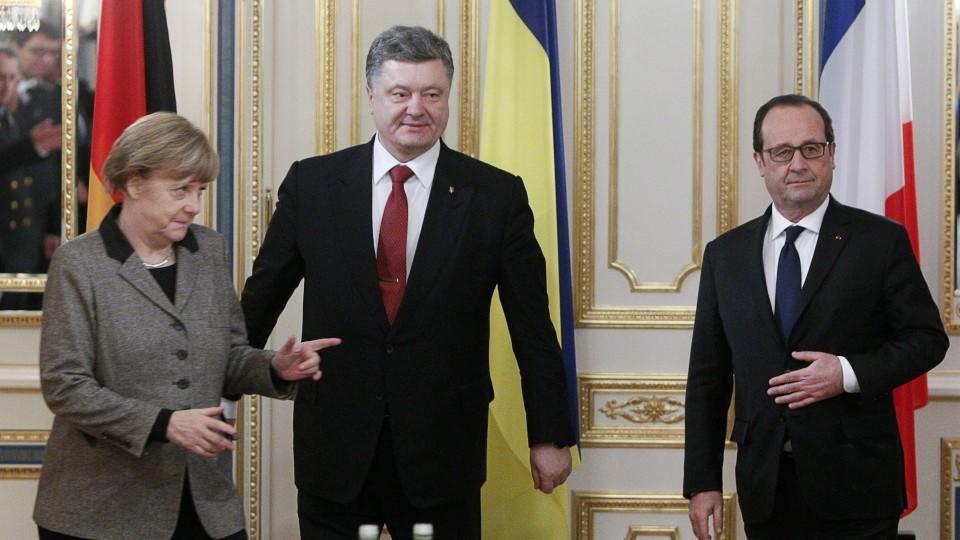 Diplomatie-Offensive im Ukraine-Konflikt