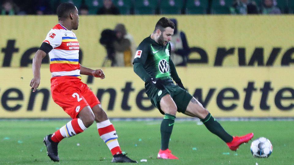 VfL vs Mainz, 1. BL Wolfsburg, 23.02.2020, FUßBALL - VfL Wolfsburg vs 1. FSV Mainz 05, 1. BL, Saison 2019/20, Volkswage