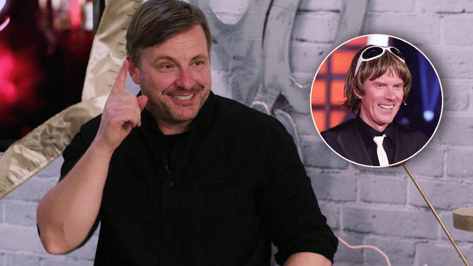 Martin Klempnow glaubt an Mickie Krauses Tanzkünste.