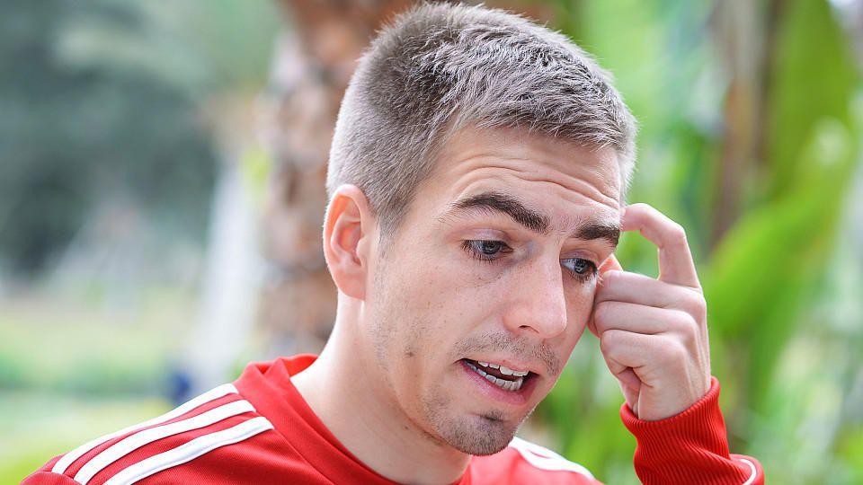 Hat sein Karriereende schon fest im Blick: Bayern-Kapitän Philipp Lahm.