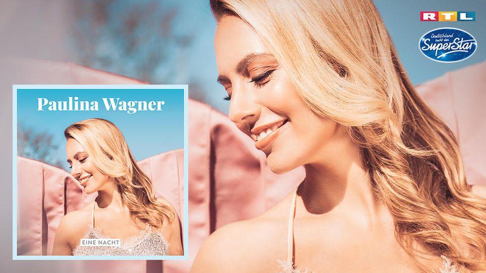 """DSDS-Finalistin Paulina Wagner mit ihrer Debütsingle """"Eine Nacht""""."""