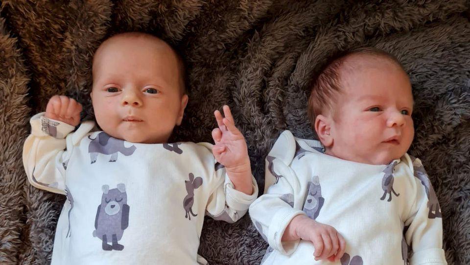 Eric und Albert: Diese Zwillinge haben unterschiedlichen Sternzeichen