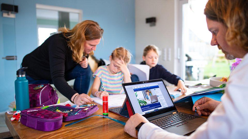 Coronavirus - Schulstart auf Distanz in NRW
