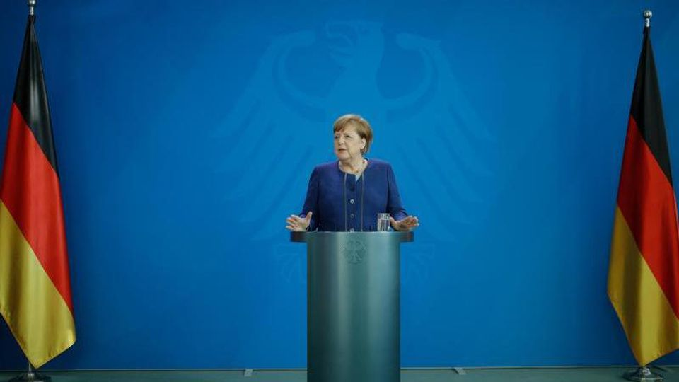 Kanzlerin Angela Merkel ist sich mit den Ländern einig geworden. Foto: Odd Andersen/AFP Pool/dpa