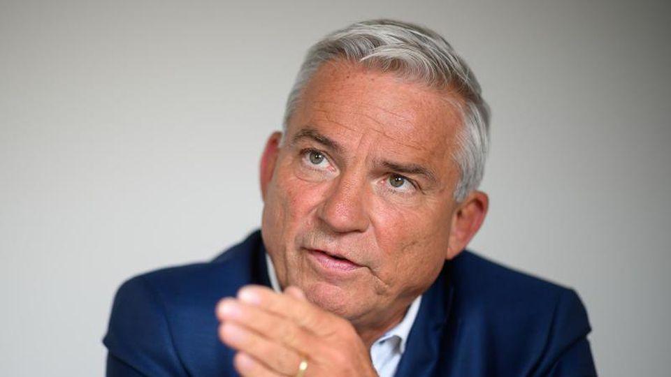 Thomas Strobl (CDU), baden-württembergischer Innenminister.Foto:Sebastian Gollnow/Archivbild