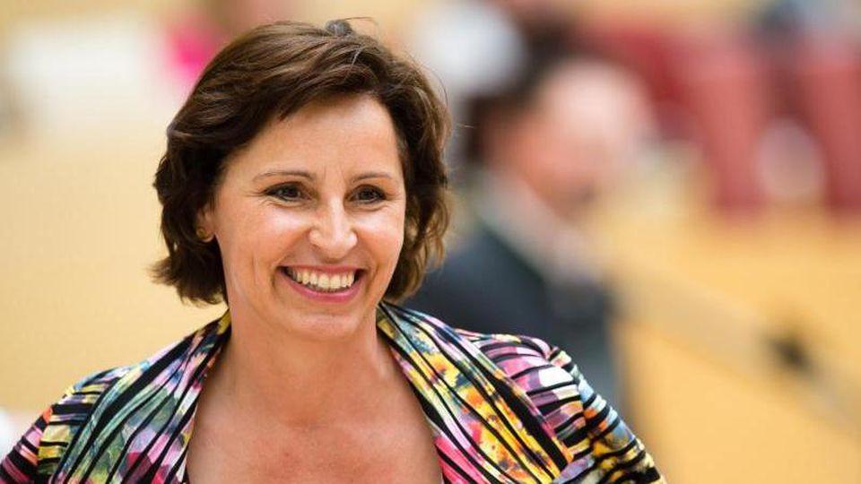 Die ehemalige Leiterin der Bayerischen Staatskanzlei Christine Haderthauer (CSU). Foto: Matthias Balk/Archiv