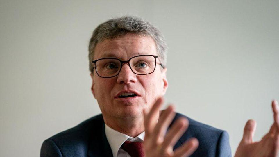 Bernd Sibler (CSU), Kulturminister in Bayern. Foto: Kay Nietfeld/dpa/Archiv