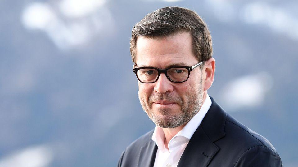 Der ehemalige Verteidigungsminister Karl-Theodor zu Guttenberg (CSU)