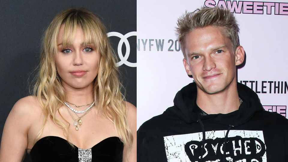 Miley Cyrus und Cody Simpson zeigen sich verliebt auf Instagram