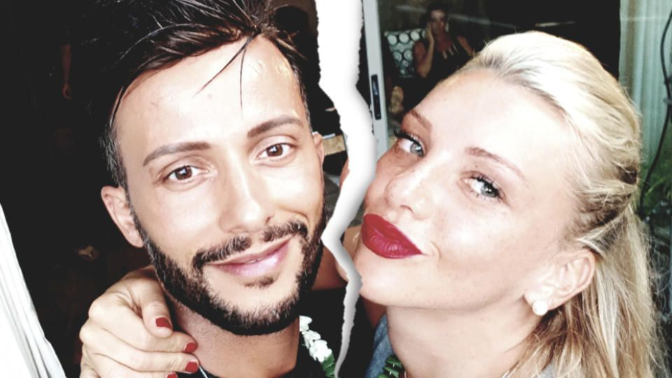 """Alles aus und vorbei: Das """"Bachelor in Paradise""""-Traumpaar Domenico und Evelyn ist getrennt."""