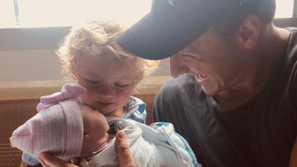 Ryan Lochte genießt die Zeit mit seinen nun zwei Kindern Caiden Zane und Liv Rae