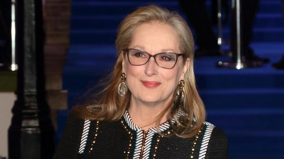 Meryl Streep bei einer Veranstaltung in London