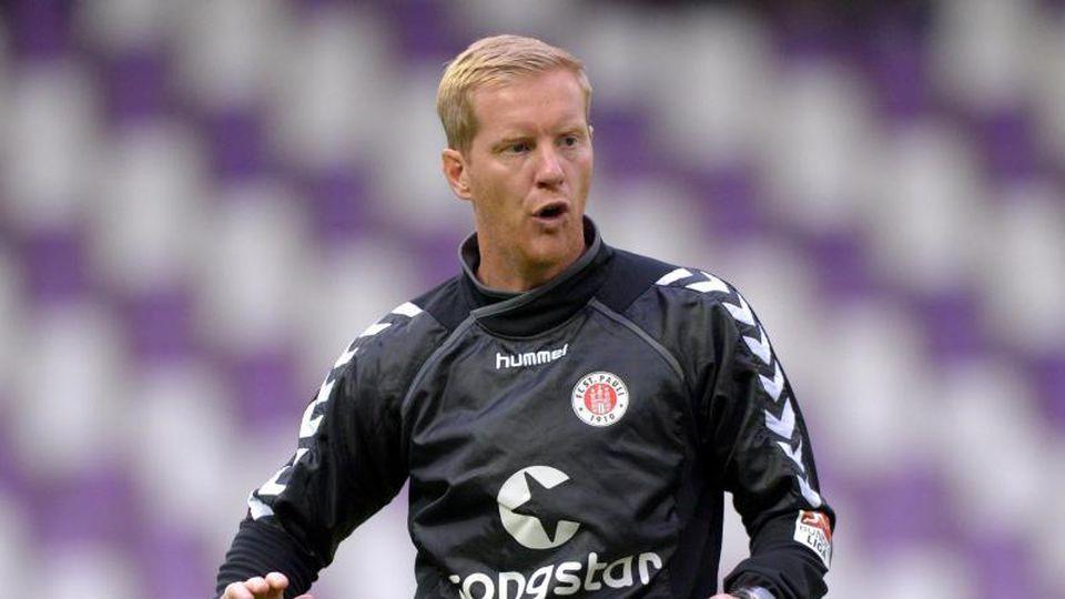 Timo Schultz ist der neue Cheftrainer des FC St. Pauli. Foto: Thomas Eisenhuth/dpa-Zentralbild/dpa