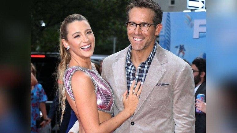 Blake Lively und Ryan Reynolds auf dem roten Teppich in New York.