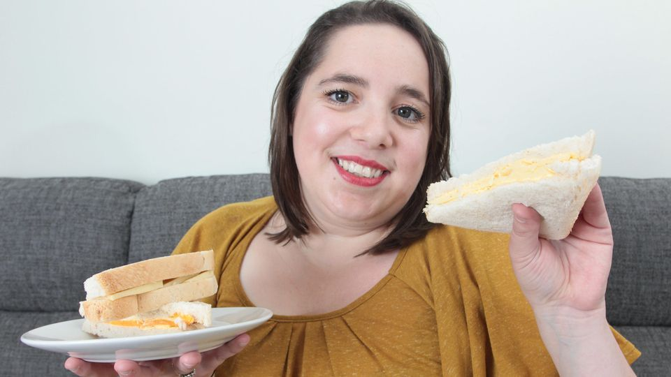 Sandwichbrot mit Käse - seit fast drei Jahrzehnten isst April kaum etwas anderes.
