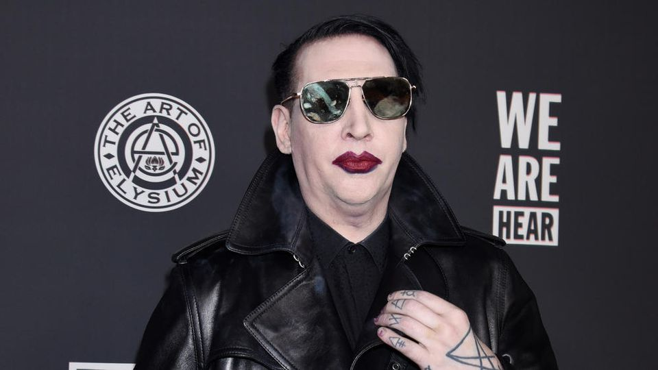 Marilyn Manson im Januar 2020