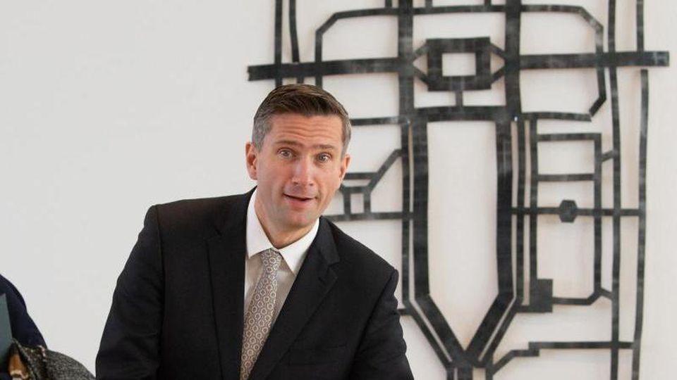 Sachsens SPD-Landesparteichef und Wirtschaftsminister Martin Dulig. Foto: Sebastian Kahnert/dpa-Zentralbild/dpa