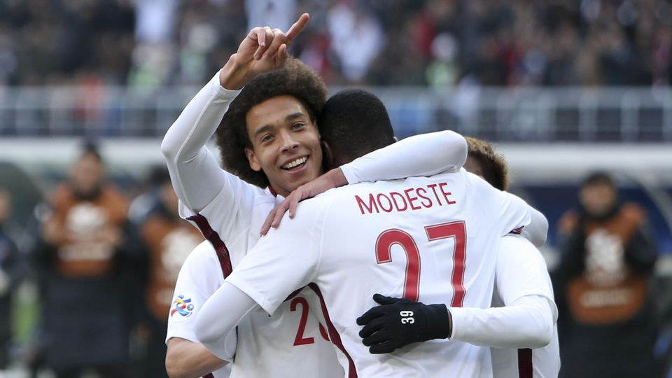 Axel Witsel und Anthony Modeste