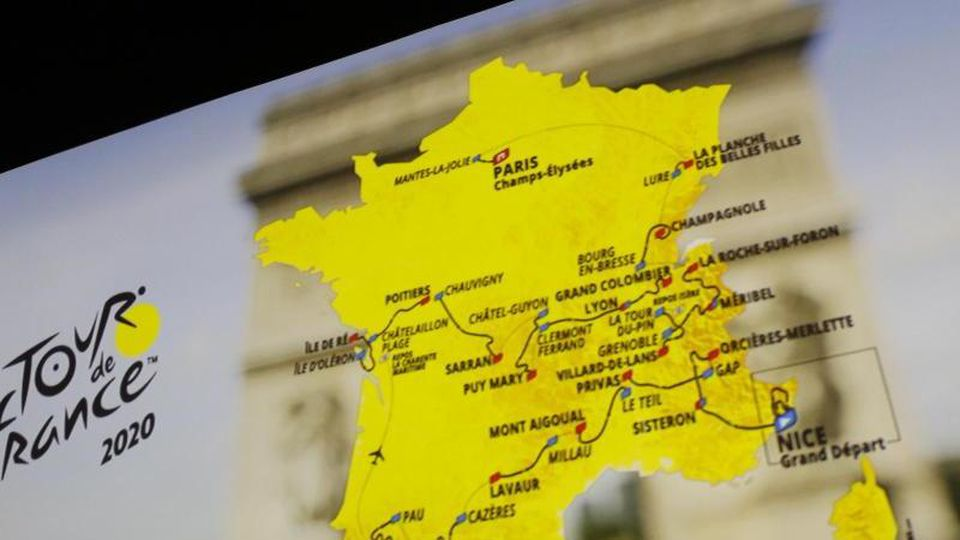 Die Strecke der Tour de France 2020 steht fest. Foto: Thibault Camus/AP/dpa