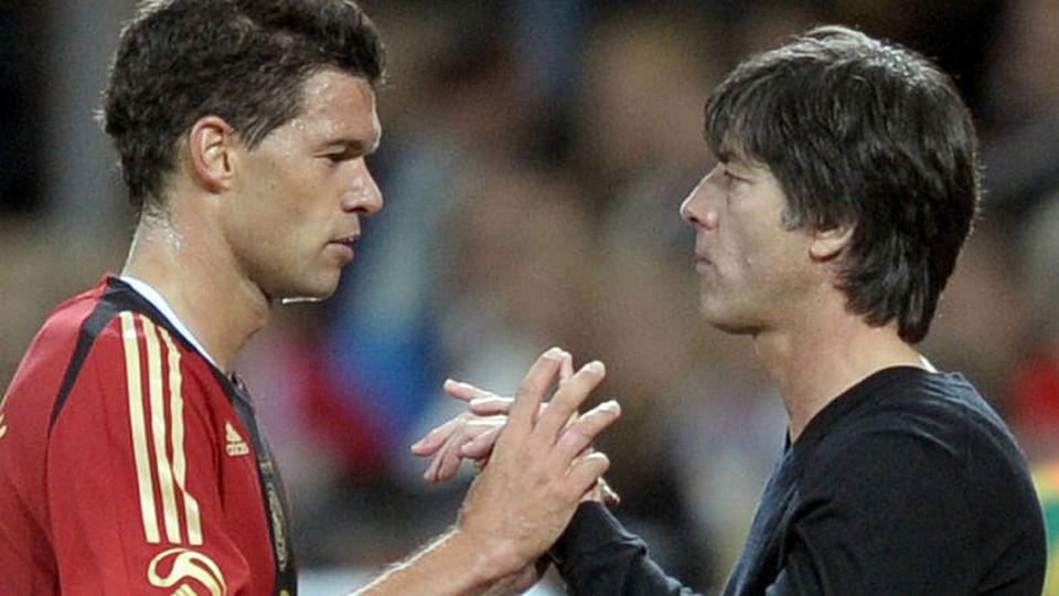 Joachim Löw und Michael Ballack - bei der EM führen ihre Wege wieder zueinander.