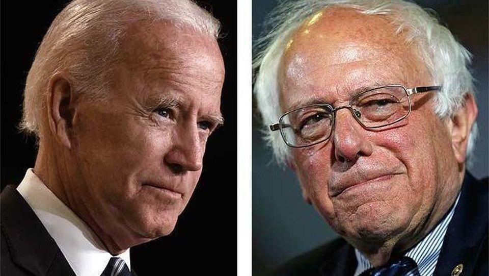 Erster Showdown mit Joe Biden und Bernie Sanders.