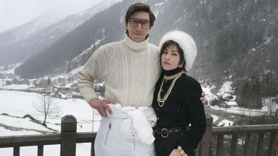 "Adam Driver und Lady Gaga in ihren ""House of Gucci""-Rollen"