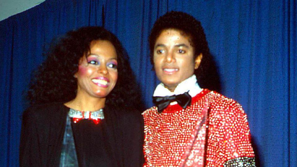 Michael Jackson und Diana Ross bei den American Music Awards 1981