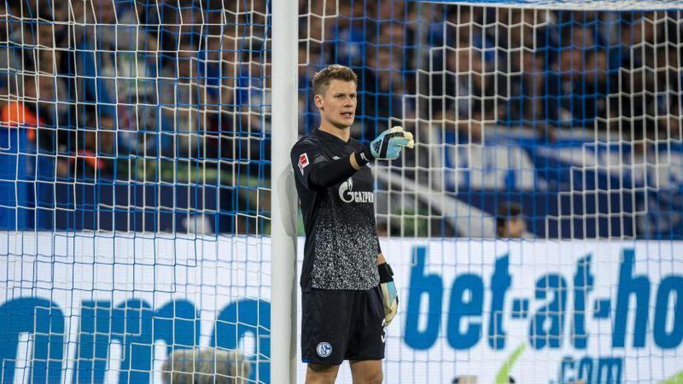 Schalkes Torwart Alexander Nübel. Foto: David Inderlied/dpa/Archivbild