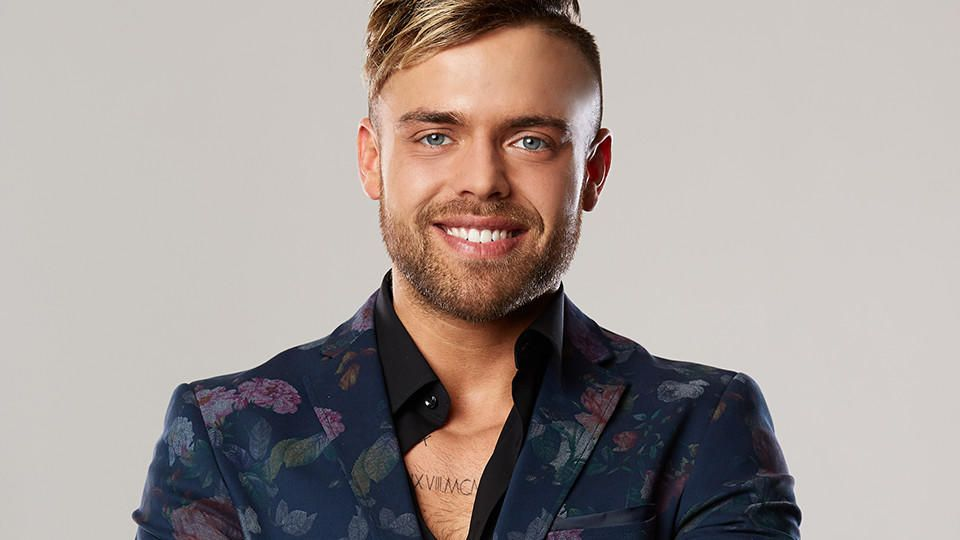 """Andreas Ongemach ist 27 Jahre alt und Kandidat bei """"Die Bachelorette 2019"""". In der fünften Woche bekommt er keine Rose."""