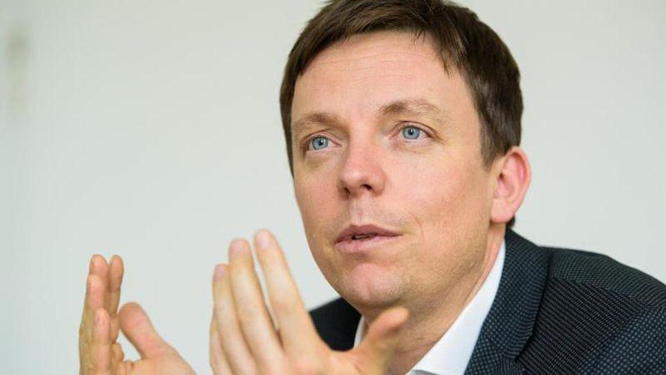 Tobias Hans, der Ministerpräsident des Saarlandes. Foto: Oliver Dietze/dpa/Archivbild