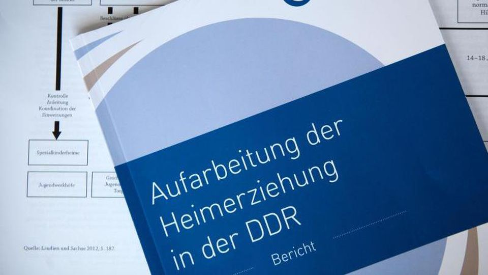 Heimerziehung in der DDR. Foto: Jens Büttner/dpa-Zentralbild/dpa/Archivbild