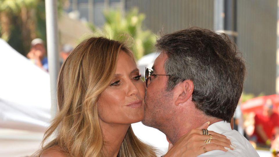 Heidi Klum und Simon Cowell kennen sich seit vielen Jahren.