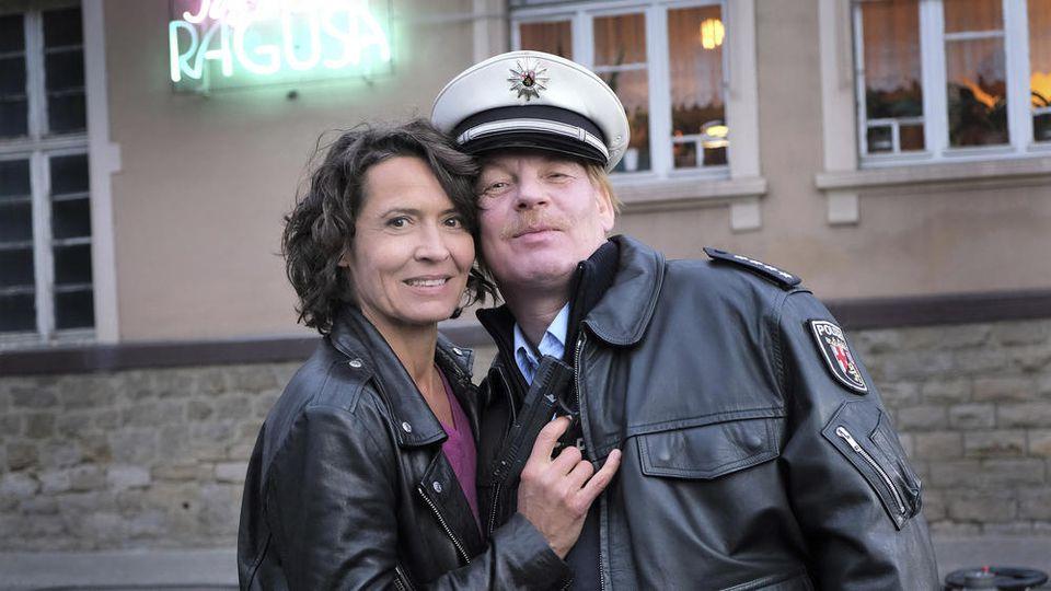 Damals wie heute ein Dream-Team: Ulrike Folkerts und Ben Becker