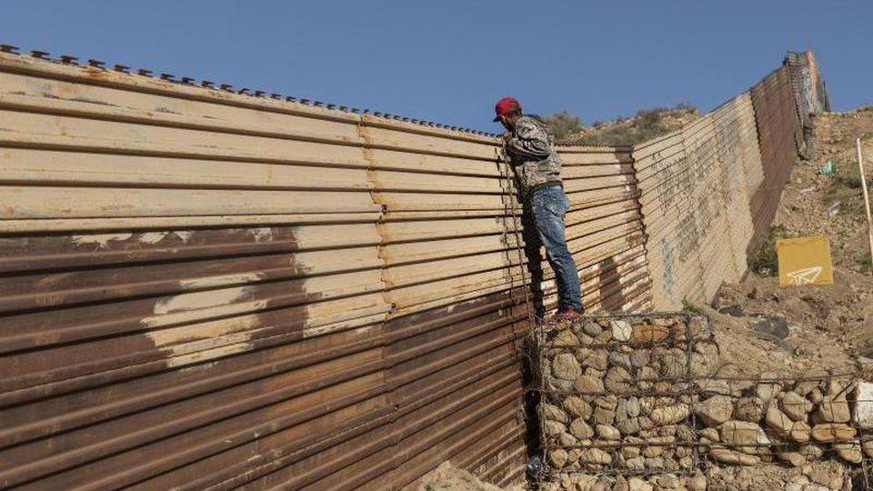 Grenze USA-Mexiko Foto: Daniel Ochoa De Olza/AP