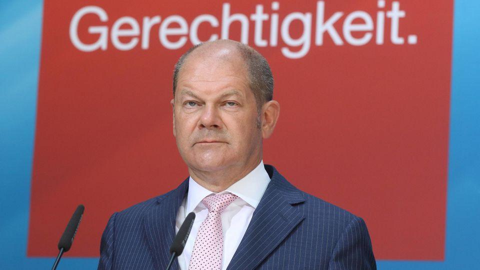 Olaf Scholz Erster Bürgermeister der Freien und Hansestadt Hamburg und Stellvertretender Parteivor