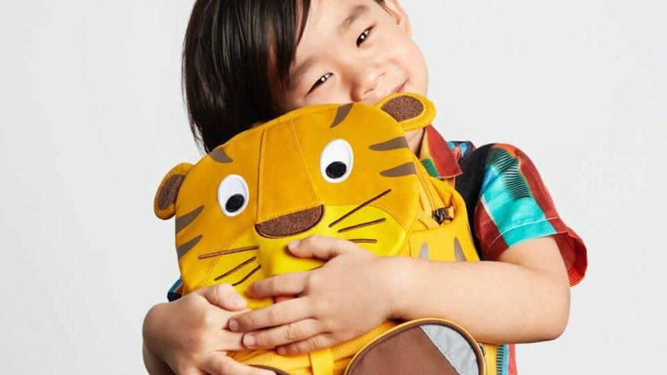 Rucksack für Kinder: Die Modelle von Affenzahn sind sehr gut.