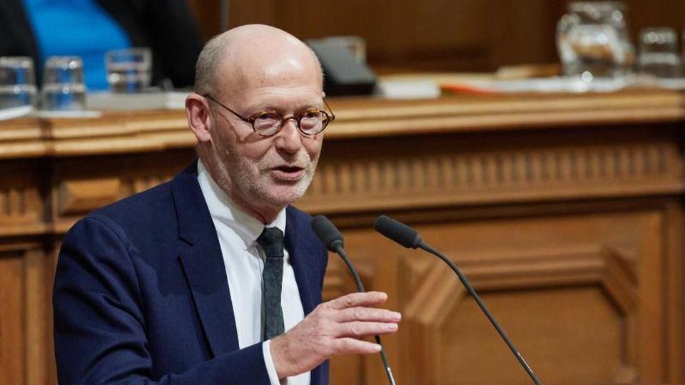 Michael Westhagemann (parteilos), Senator für Wirtschaft, Verkehr und Innovation in Hamburg. Foto: Georg Wendt/dpa