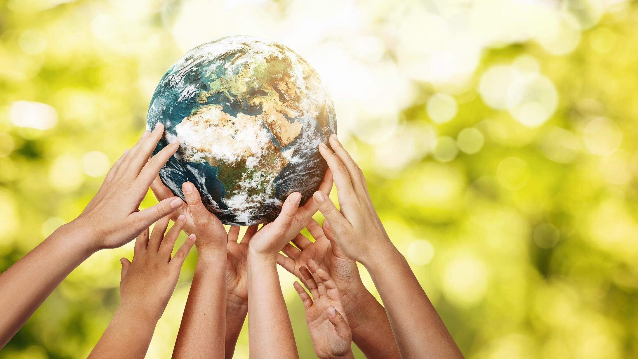 Jeder kann die Erde zu einem besseren Ort machen.