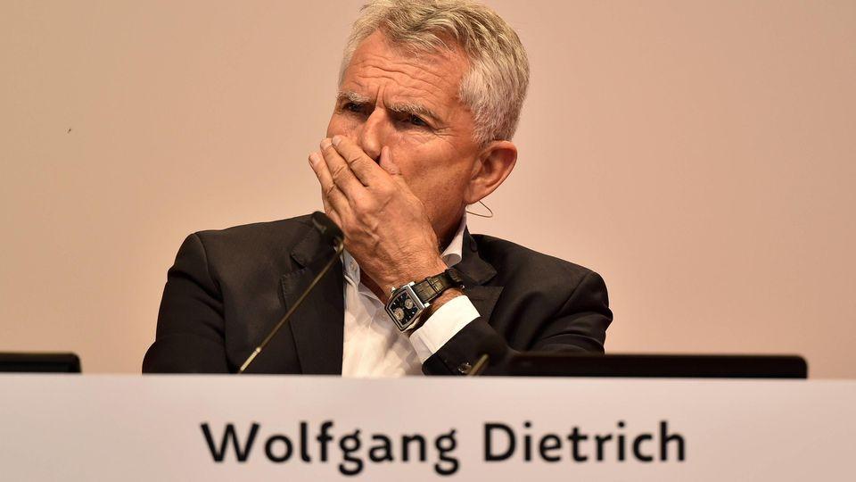 Präsident Wolfgang Dietrich