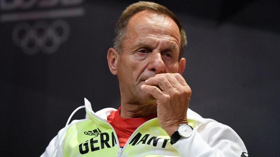 Alfons Hörmann, Präsident des Deutschen Olympischen Sportbundes (DOSB). Foto: Ina Fassbender/AFP POOL/dpa/Archivbild
