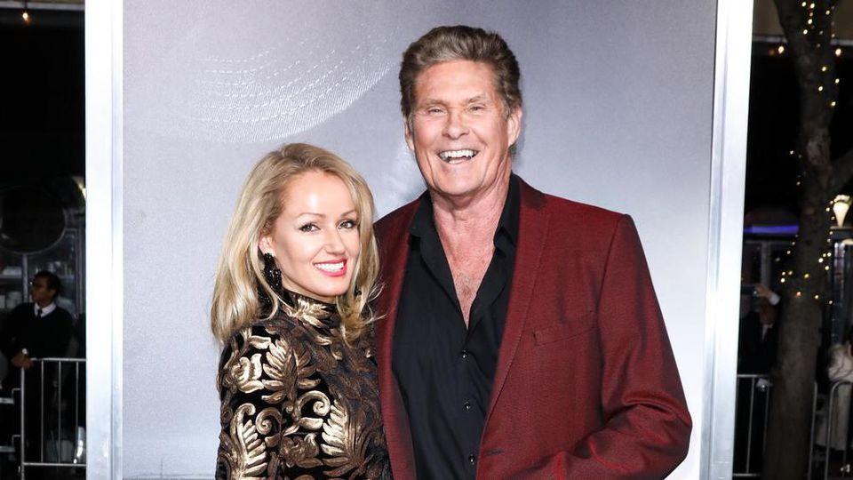 David Hasselhoff hat dank seiner Frau sein Leben wieder im Griff
