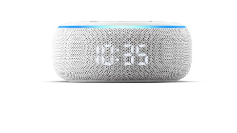 Die Echo-Serie von Amazon wächst weiter - unter anderem um einen Echo Dot mit Uhr.