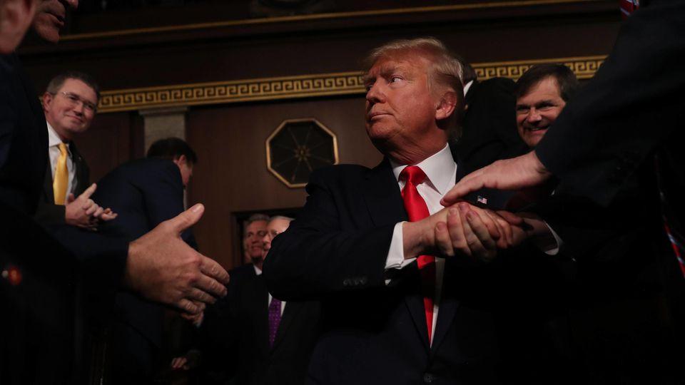 Höhepunkt im Amtsenthebungsverfahren gegen US-Präsident Donald Trump