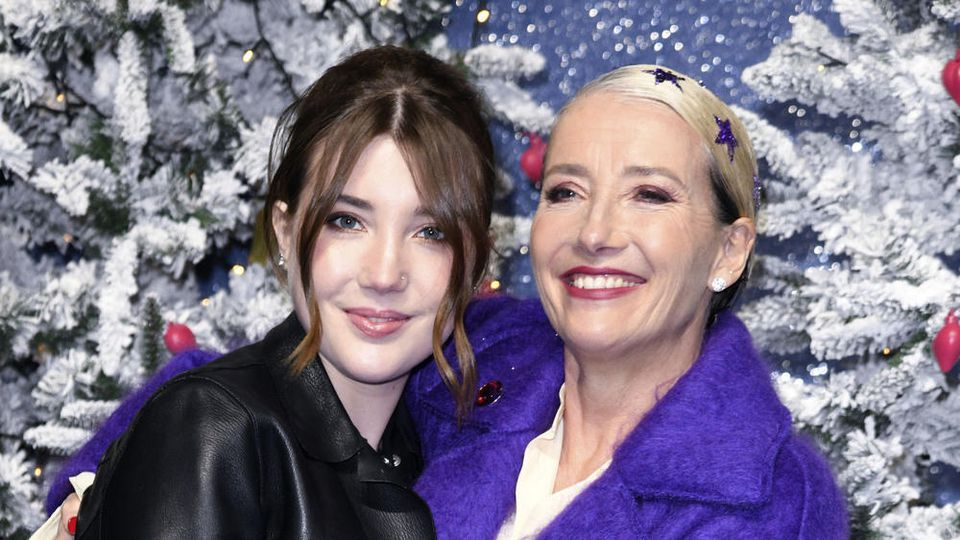 """Schauspielerin Emma Thompson kam mit ihrer Tochter Gaia zur """"Last Christmas""""-Premiere in London"""