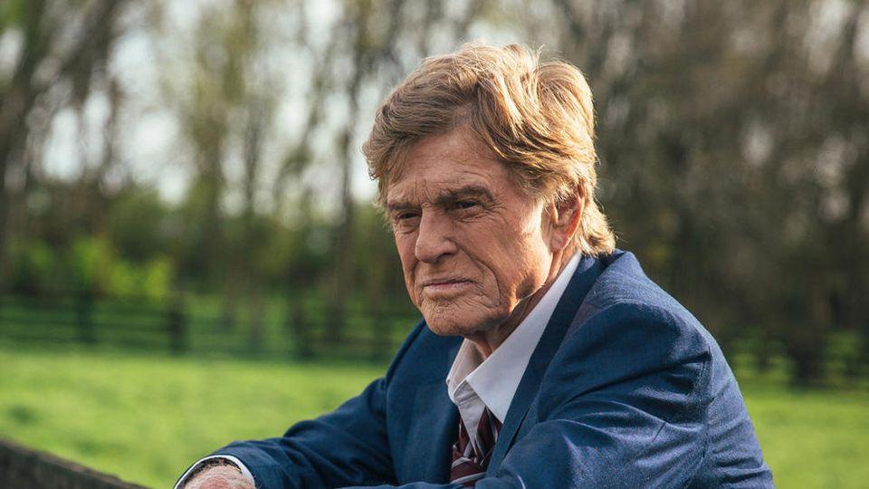 """Robert Redford als Forrest Tucker in """"Ein Gauner & Gentleman""""."""